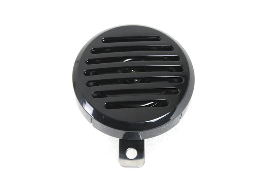 Universal Horn Electric Black 12 Volt