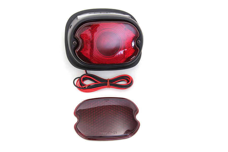 Tail Lamp with Glass Lens