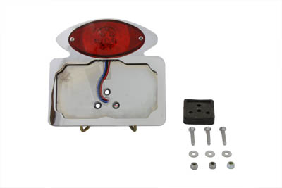 Oval Style Tail Lamp Assembly LED