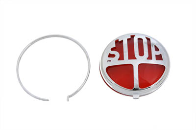 Tail Lamp Lens Kit Stop Style Red