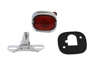 Chrome Tail Lamp and Bracket Kit