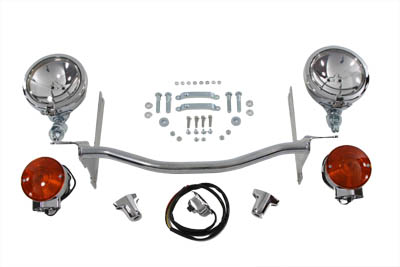 Chrome Spotlamp Kit
