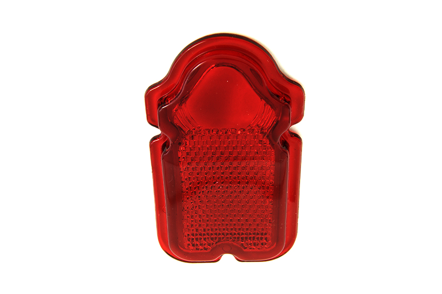 Tail Lamp Lens Plastic Red