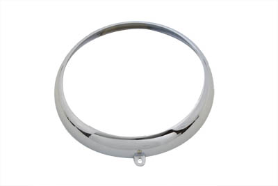 "7"" Outer Headlamp Rim Chrome"