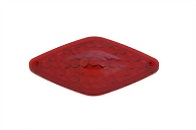 Tail Lamp Lens Only Diamond Style Red