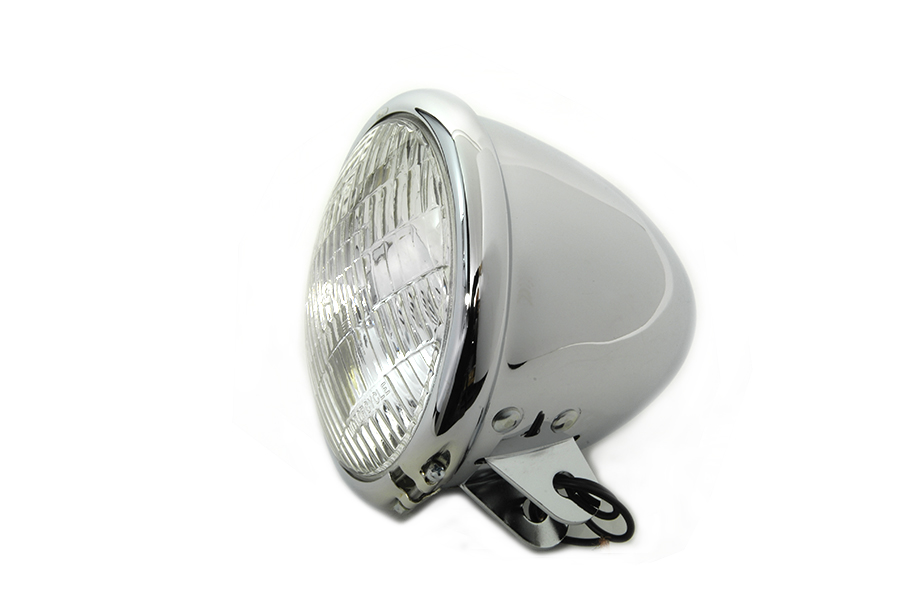 "5-3/4"" Round Headlamp Tear Drop Style"