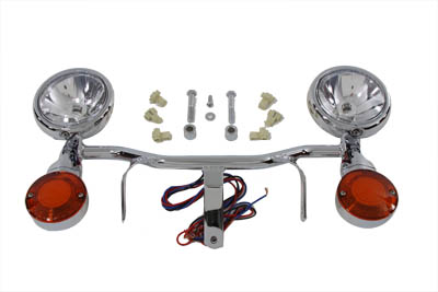 *UPDATE National Chrome Spotlamp Kit