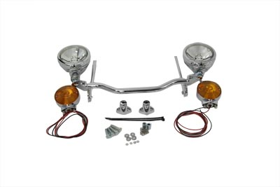 Chrome Spotlamp Kit with Turn Signals