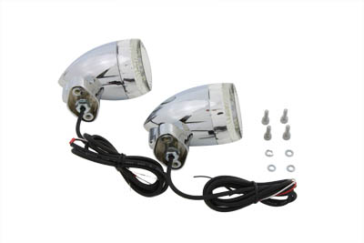 Bullet Turn Signal Set with FL Mount