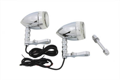 Bullet Turn Signal Set with Headlamp Mount