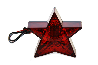 "3-1/2"" Star Tail Lamp with Bulb"