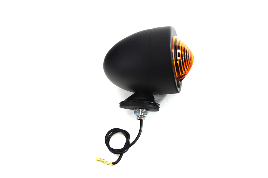 Black Bullet Marker Lamp One Wire Type