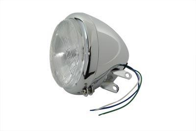 "5-3/4"" Headlamp Assembly Chrome"