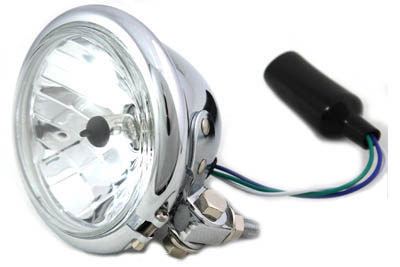 "4-1/2"" Round Headlamp Chrome"