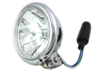 "5-3/4"" Round Headlamp Chrome"