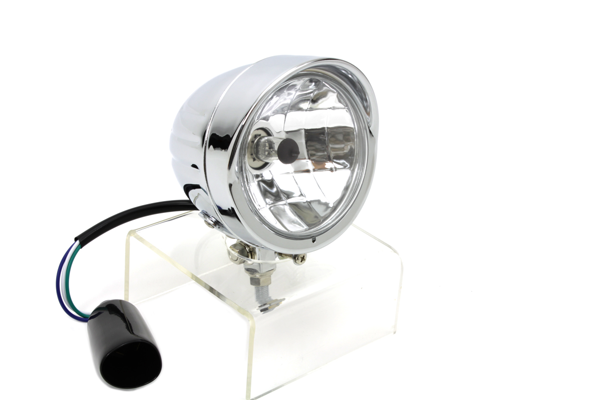 Round Headlamp Chrome