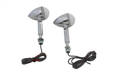 LED Bullet Turn Signal Set with Long Stud
