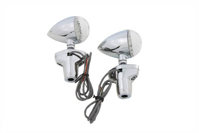 LED Turn Signal Set with Stand Off Mount