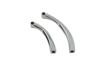 Curved Solid Style Billet Mirror Stem