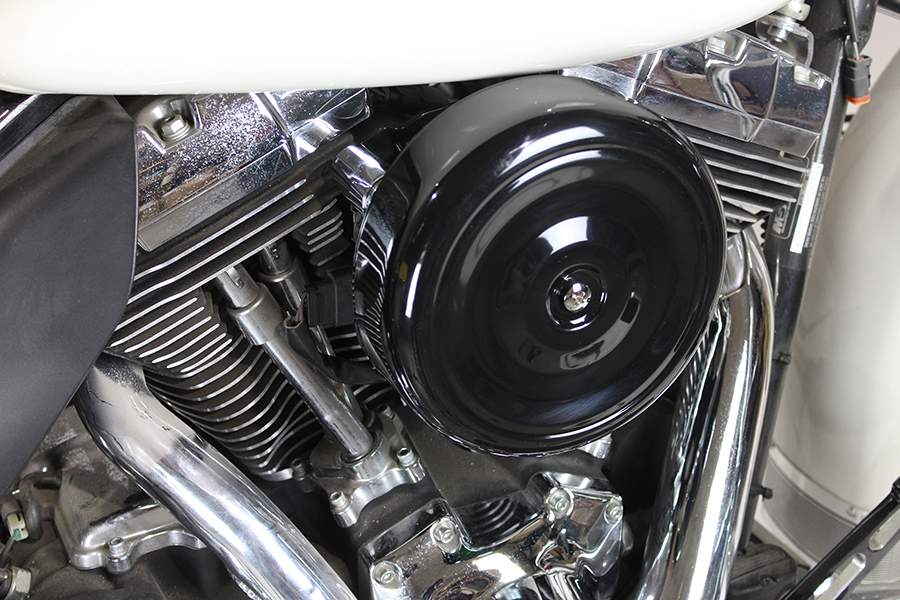 "8"" Round Air Cleaner Kit Black"