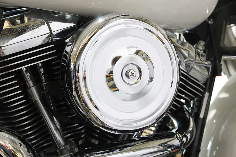 "8"" Round Air Cleaner Kit Chrome"