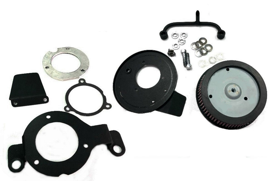 M8 Air Cleaner Kit Black