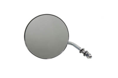 "4-1/2"" Round Chrome Mirror"