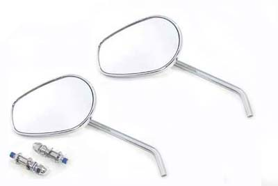 Rectangle Mirror Set with Round Stems