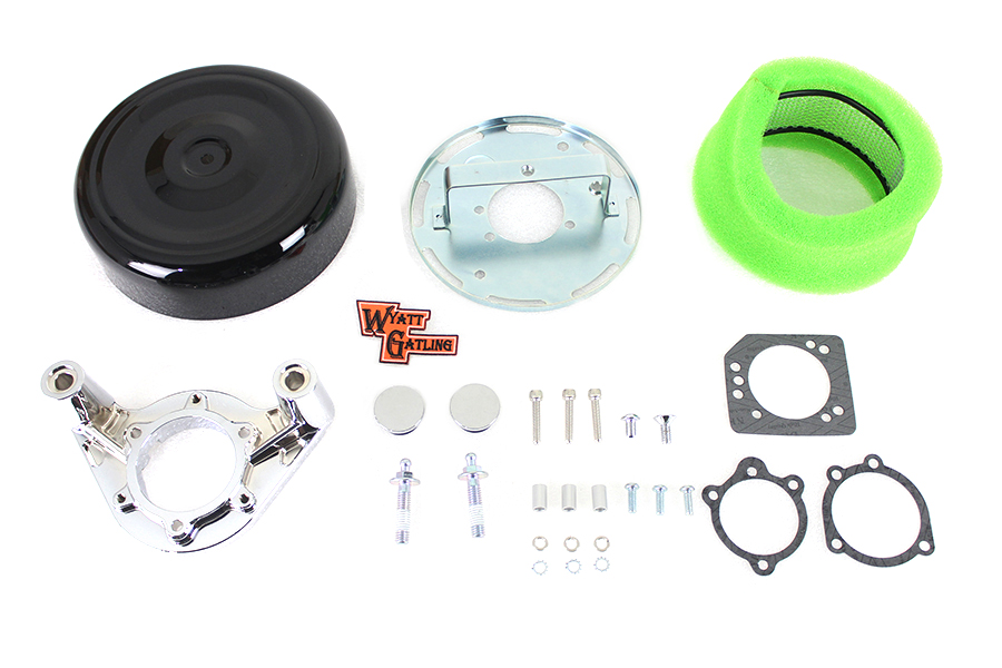 "8"" Air Cleaner Kit Black"