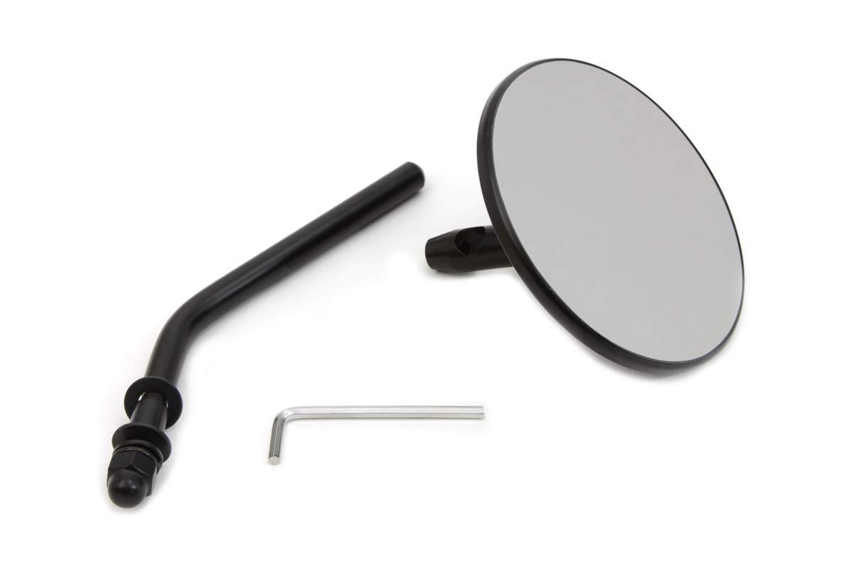 Steel Back Mirror Black