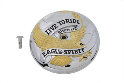 *UPDATE Eagle Spirit Air Cleaner Insert Gold Inlay