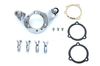 Air Cleaner Bracket Kit Chrome Billet