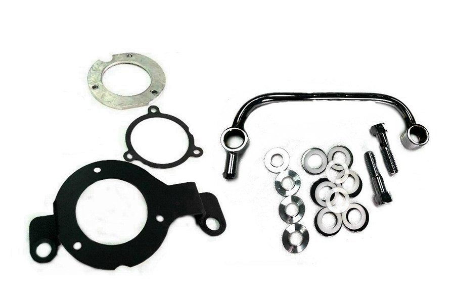 M8 EFI Air Cleaner Support Bracket Kit Black