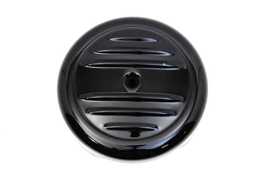 "8"" Black Stripe Air Cleaner Cover"