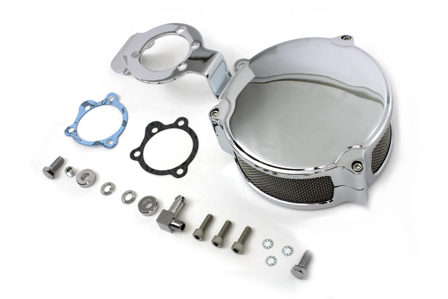 Wyatt Gatling New Era Air Cleaner Kit Chrome For Harley