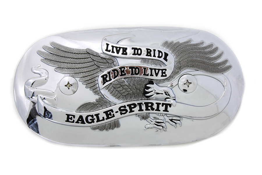 Eagle Spirit Oval Chrome Air Cleaner Insert