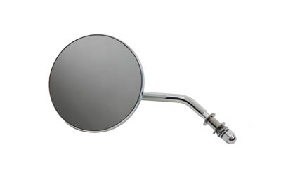 Round Mirror Chrome