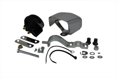 Horn Kit with Bracket Cover Hardware Chrome
