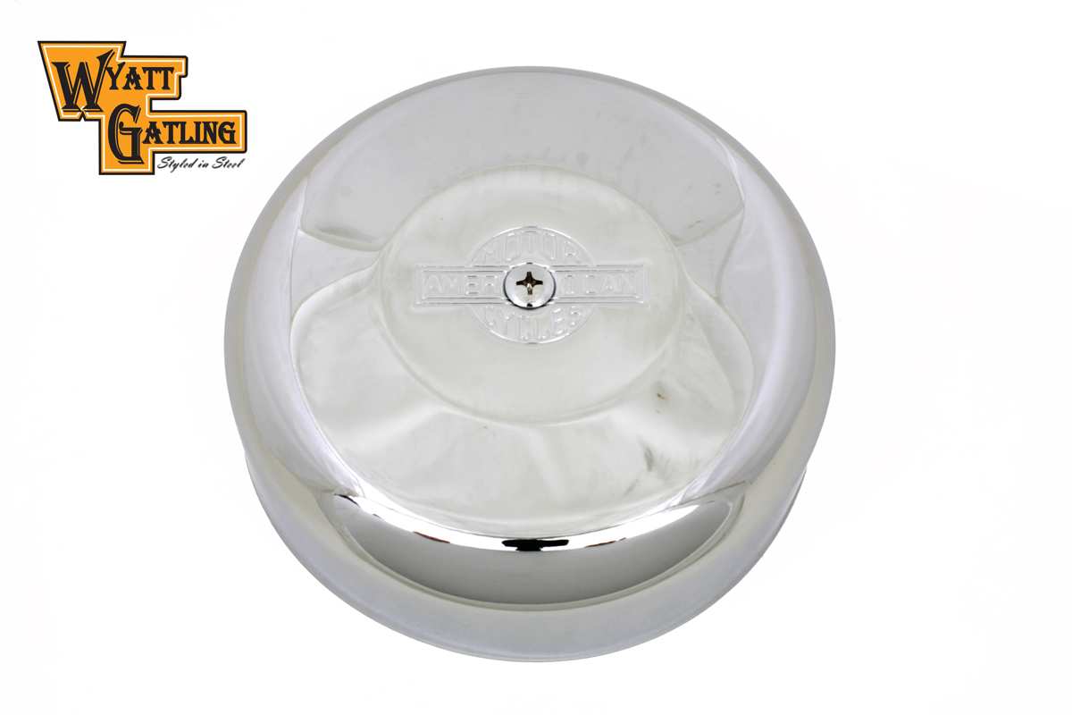 Wyatt Gatling Air Cleaner Cover Chrome