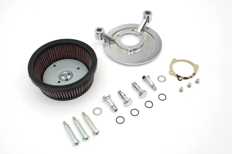 Air Cleaner Backing Plate Kit Fits Harley Davidson