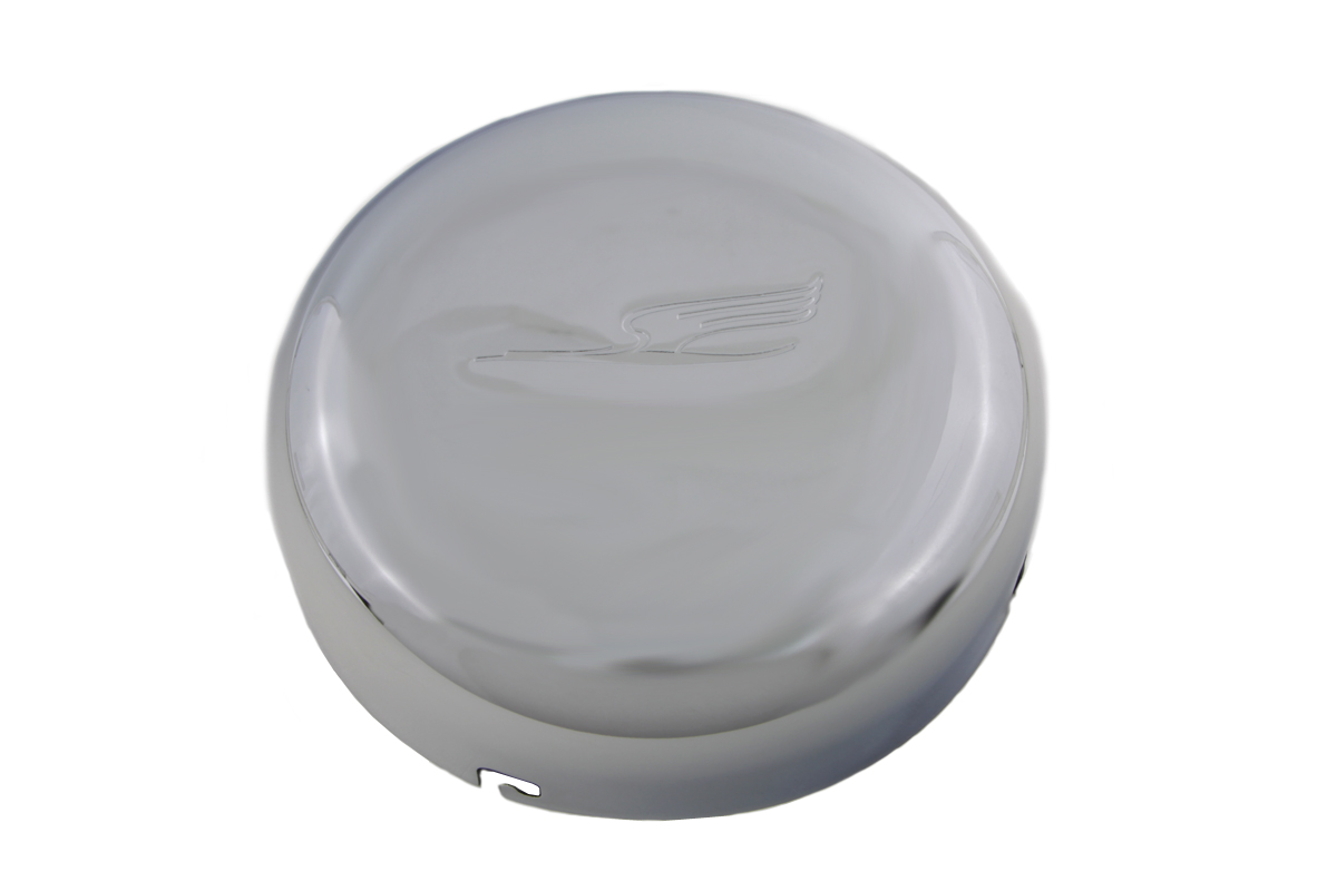 "7"" Bird Style Air Cleaner Cover Chrome"