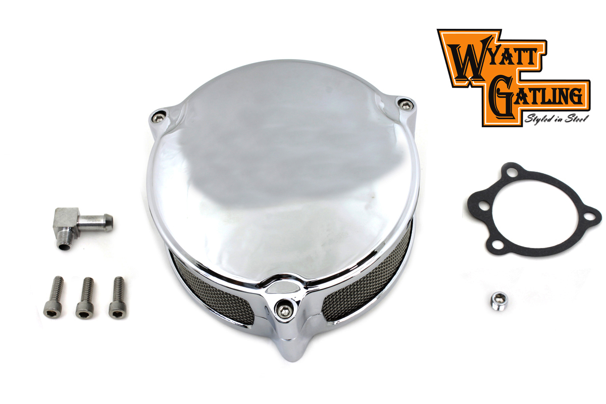 Wyatt Gatling New Era Chrome Air Cleaner