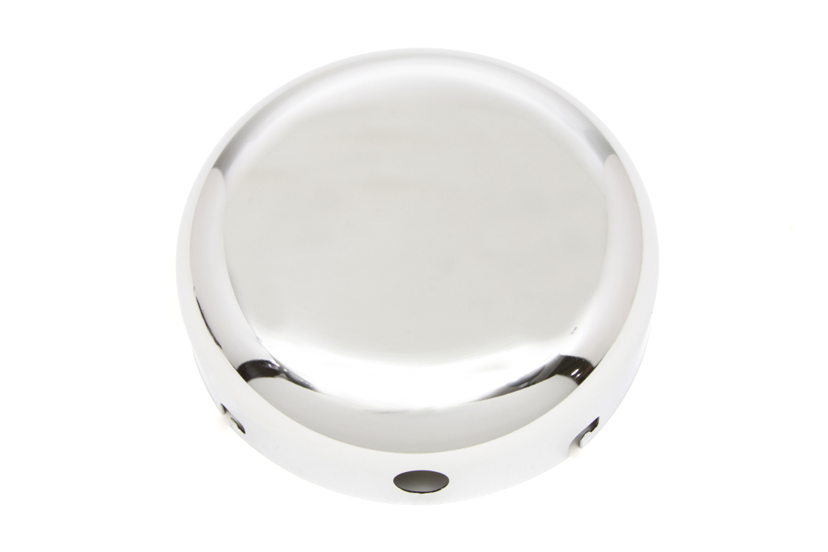 "Chrome 7"" Air Cleaner Cover"