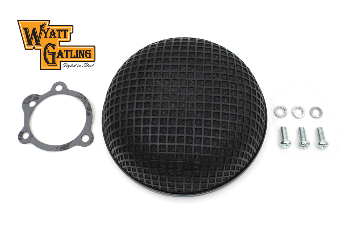 Wyatt Gatling Black Round Mesh Air Cleaner