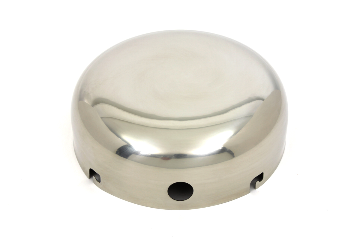Polished Stainless Steel J-Slot Air Cleaner Cover