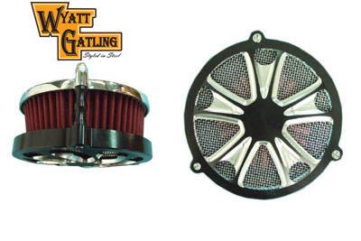Wyatt Gatling EFI Air Cleaner Assembly Black