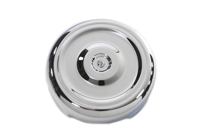 "Chrome Round Bobbed Style 8"" Air Cleaner Cover"