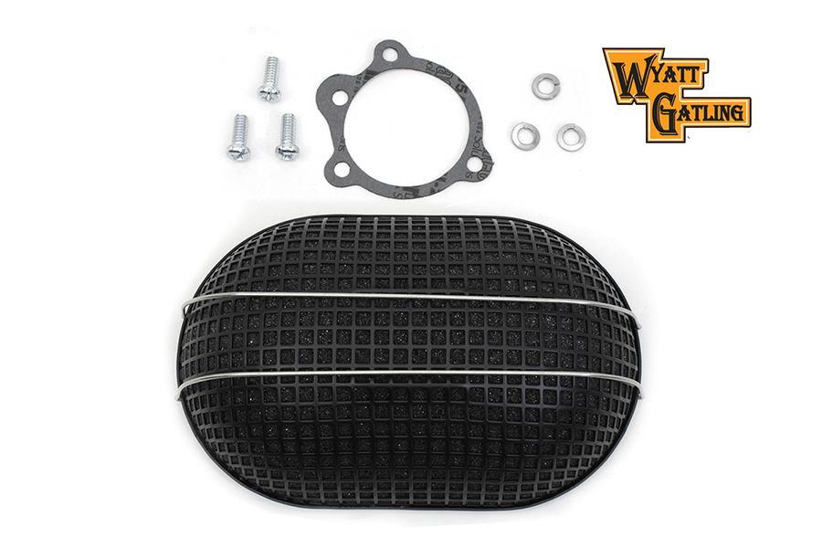 Wyatt Gatling Black Turbo Air Cleaner
