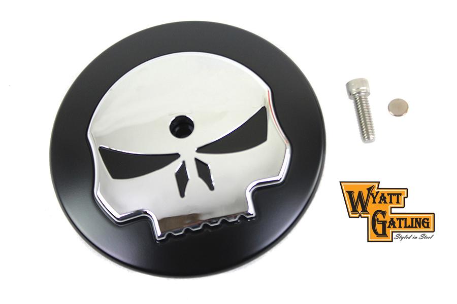 Wyatt Gatling Skull Air Cleaner Cover Insert