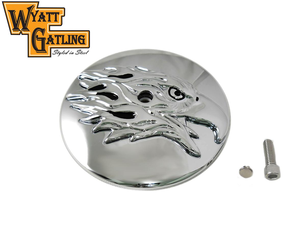 Wyatt Gatling Round Eagle Air Cleaner Cover Insert